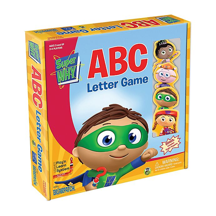 Alternate image 1 for Briarpatch Super Why ABC Letter Game