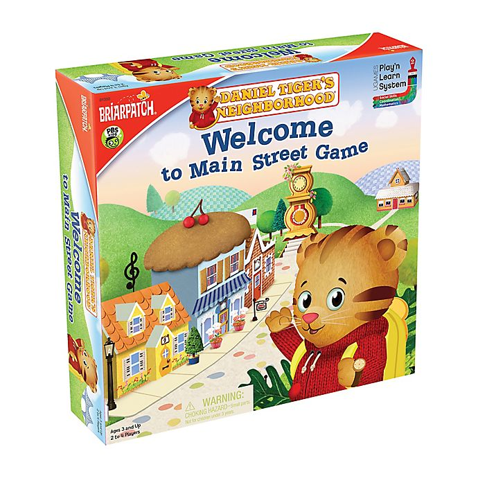 Alternate image 1 for Daniel Tiger's Neighborhood™ Welcome to Main Street Game