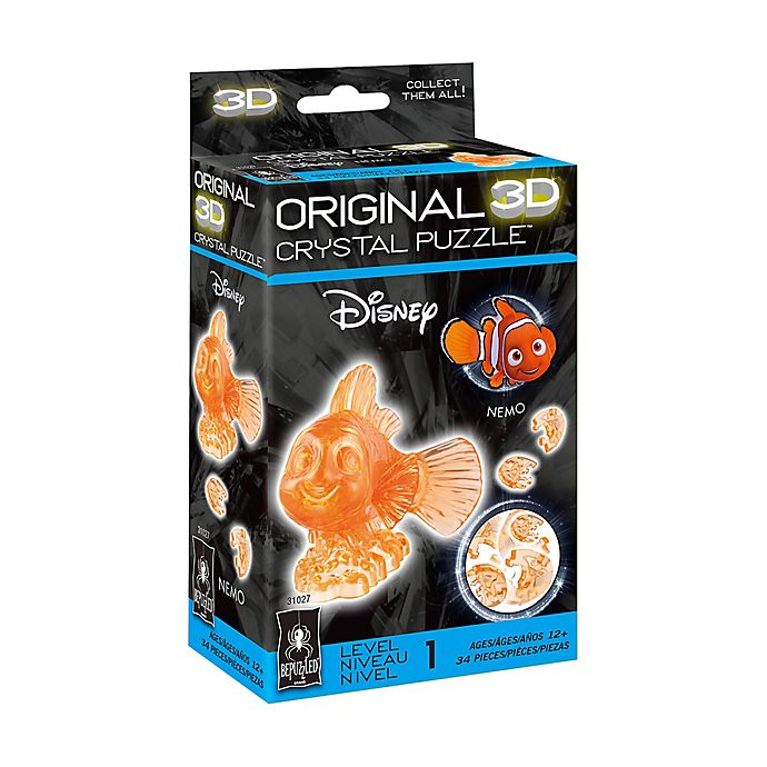 Alternate image 1 for Disney® Nemo 34-Piece Original 3D Crystal Puzzle