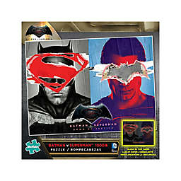 Batman Vs Superman Glow-in-the-Dark 1000-Piece Reveal Jigsaw Puzzle