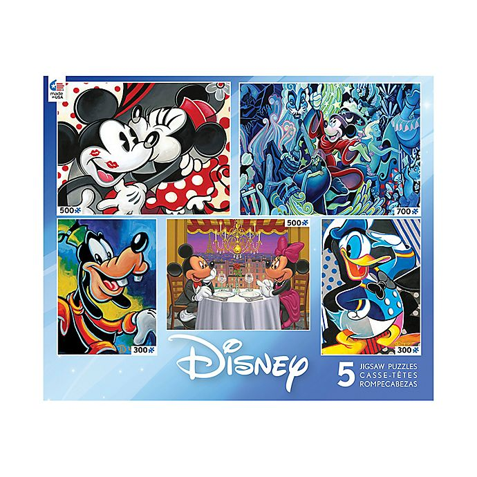 Classic Disney® Collection 5-in-1 Multi-Pack Jigsaw Puzzles