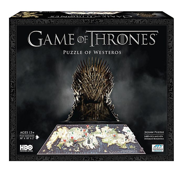 Alternate image 1 for 4D Cityscape Time Puzzlee  Game of Thrones: Westeros