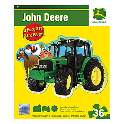 John Deere 36-Piece Plowing Through Floor Puzzle