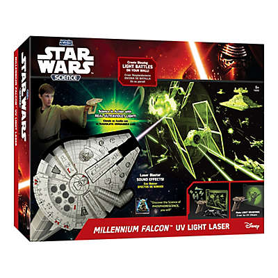 Star Wars™ Science Millennium Falcon™ UV Light Laser