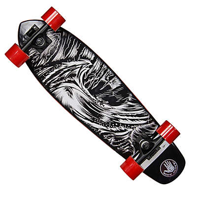 Body Glove® Solitude 27-Inch Cruiser Skateboard in Black