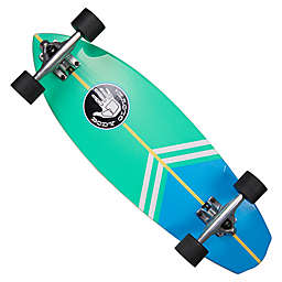 Body Glove® Surfslide 28-Inch Longboard in Aqua/Green
