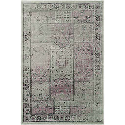 Safavieh Vintage Tile 2-Foot x 3-Foot Accent Rug in Amethyst
