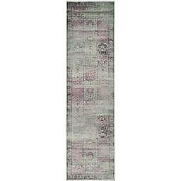 Safavieh Vintage Tile 2-Foot 2-Inch x 6-Foot Runner in Amethyst