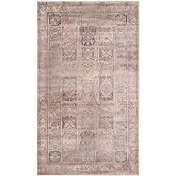 Safavieh Vintage Tile 2-Foot 7-Inch x 4-Foot Accent Rug in Mouse