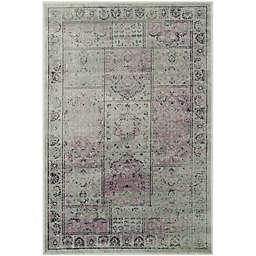 Safavieh Vintage Tile 5-Foot 3-Inch x 7-Foot 6-Inch Area Rug in Amethyst
