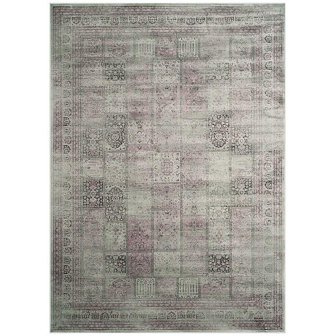 Alternate image 1 for Safavieh Vintage Tile 6-Foot 7-Inch x 9-Foot 2-Inch Area Rug in Amethyst