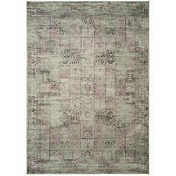 Safavieh Vintage Tile 8-Foot x 11-Foot 2-Inch Area Rug in Amethyst