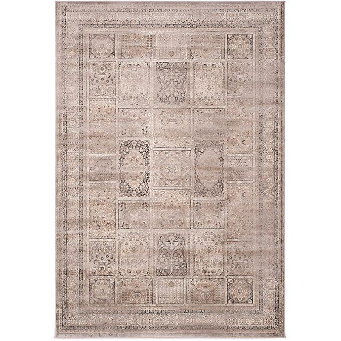 Alternate image 1 for Safavieh Vintage Tile 7-Foot 6-Inch x 10-Foot 6-Inch Area Rug in Mouse