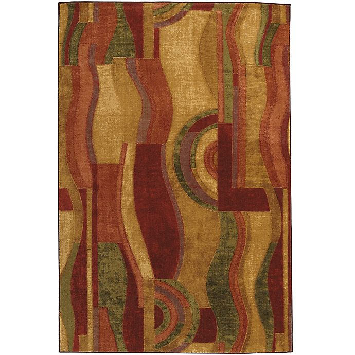 Alternate image 1 for Mohawk® Picasso 7-Foot 6-Inch x 10-Foot Area Rug in Wine
