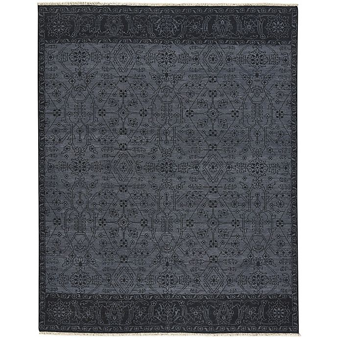 Alternate image 1 for Capel Rugs Barrier Area Rug in Ebony/Grey