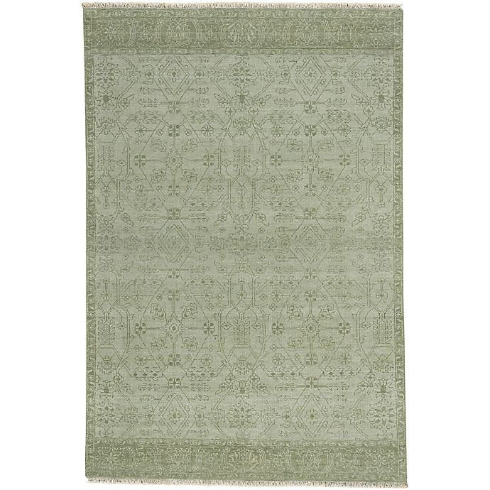 Alternate image 1 for Capel Rugs Barrier 7-Foot 6-Inch x 9-Foot 6-Inch Area Rug in Thyme