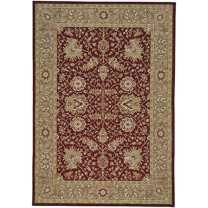 Alternate image 1 for Capel Rugs Centennial Floret 3-Foot 6-Inch x 5-Foot 6-Inch Area Rug in Brick