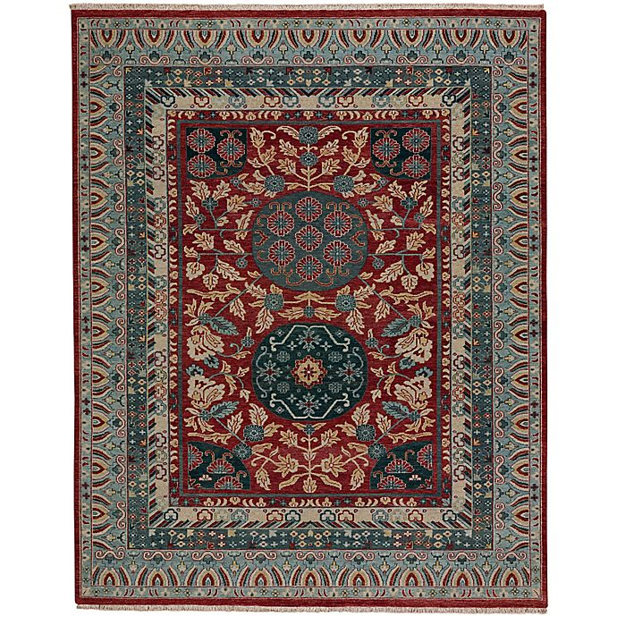 Alternate image 1 for Capel Rugs Plantation Journet 7-Foot 6-Inch x 9-Foot 6-Inch Area Rug in Red Multi