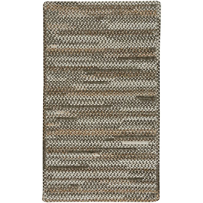 Alternate image 1 for Capel Rugs Habitat 1-Foot 8-Inch x 2-Foot 6-Inch Accent Rug in Grey
