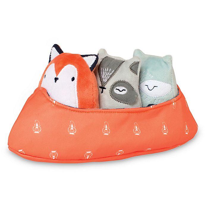 Alternate image 1 for Manhattan Toy® Camp Acorn 4-Piece Canoe Buddies Set