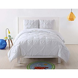 My World Pleated Duvet Cover Set
