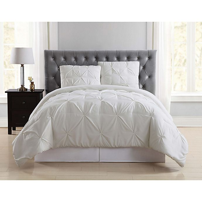 Alternate image 1 for Truly Soft Pleated Comforter Set