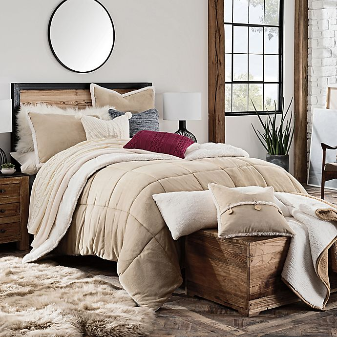 Alternate image 1 for UGG® Hudson Reversible Comforter Set