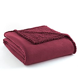 Micro Flannel® to Sherpa Blanket