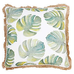 Thro by Mario Lorenz Frances Watercolor Beaded Throw Pillow