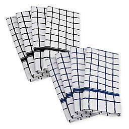 Design Imports Windowpane Terry Kitchen Towels (Set of 4)