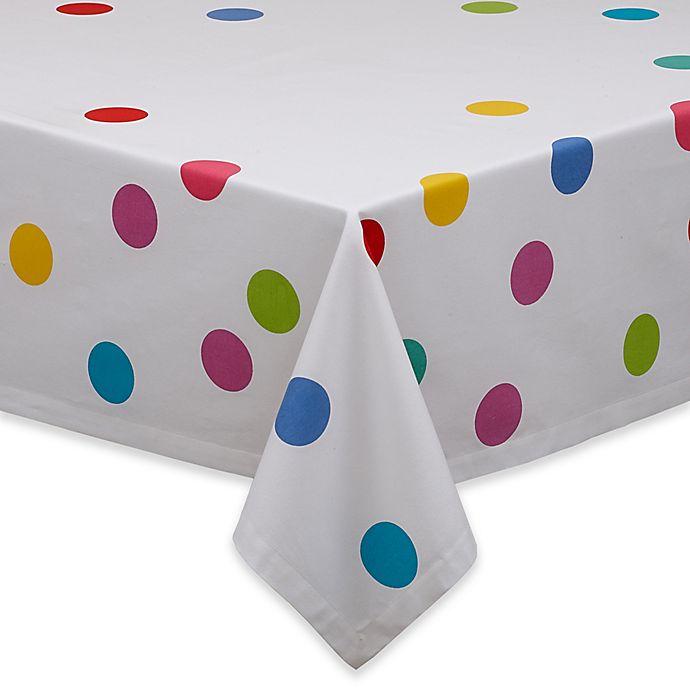 Alternate image 1 for Design Confetti Print 52-Inch Square Tablecloth