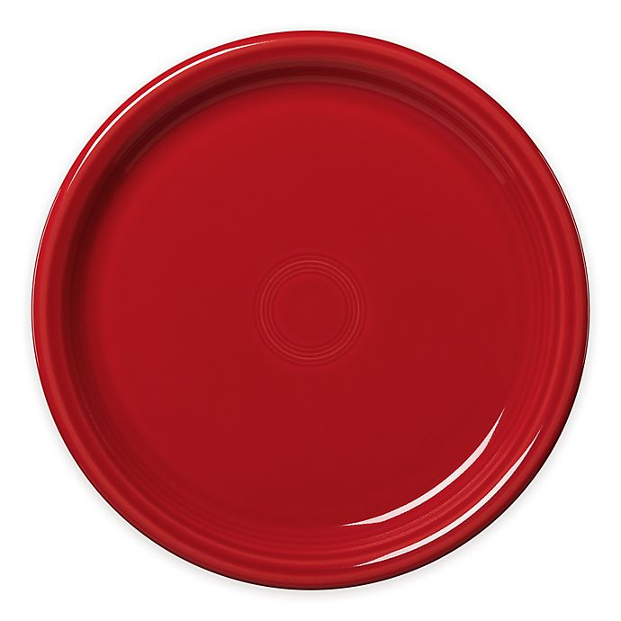 Alternate image 1 for Fiesta® Bistro Dinner Plate in Scarlet