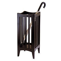 Wood Portland Umbrella Stand