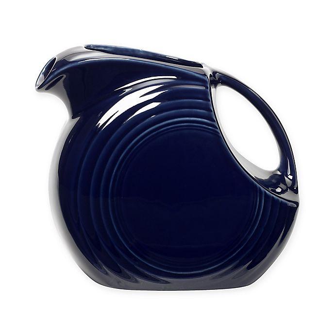 Alternate image 1 for Fiesta® Large Pitcher in Cobalt Blue