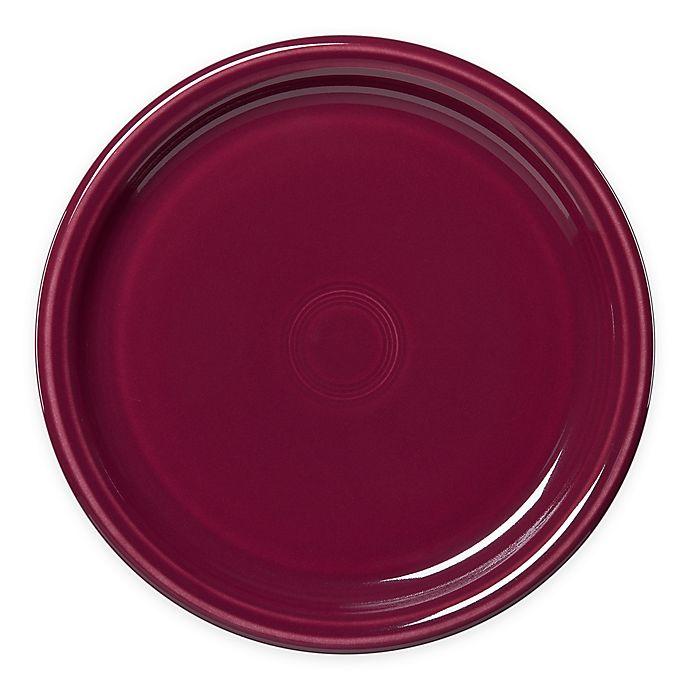Alternate image 1 for Fiesta® Bistro Dinner Plate in Claret