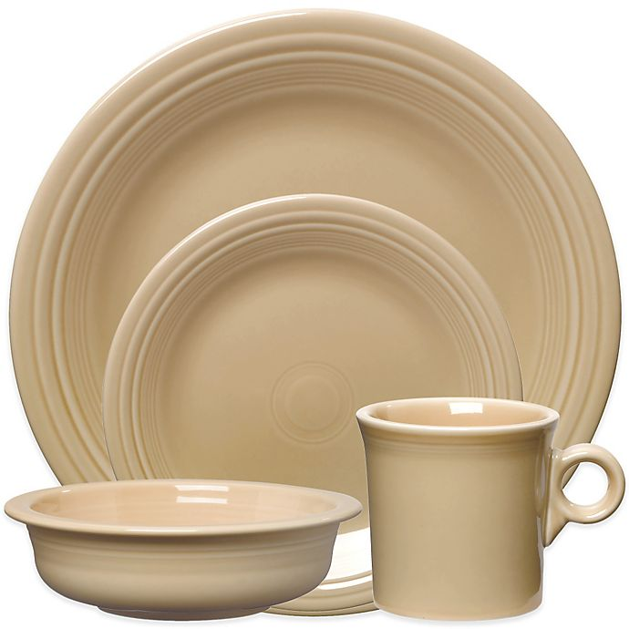Alternate image 1 for Fiesta® Dinnerware Collection in Ivory