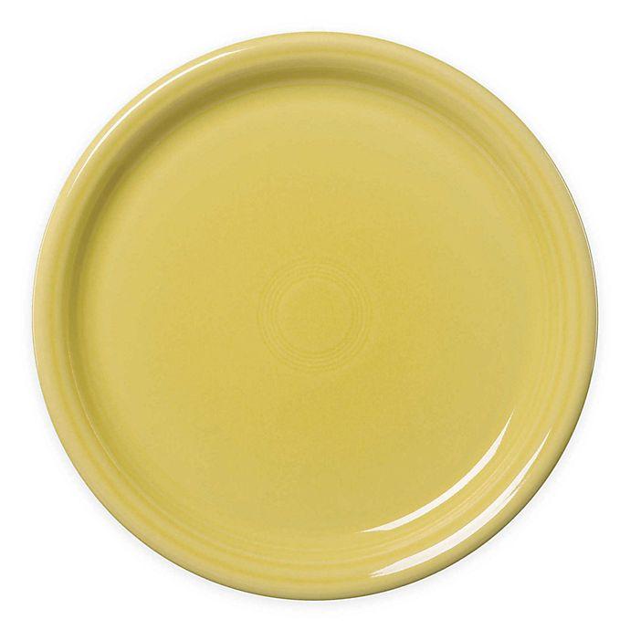 Alternate image 1 for Fiesta® Bistro Dinner Plate in Sunflower