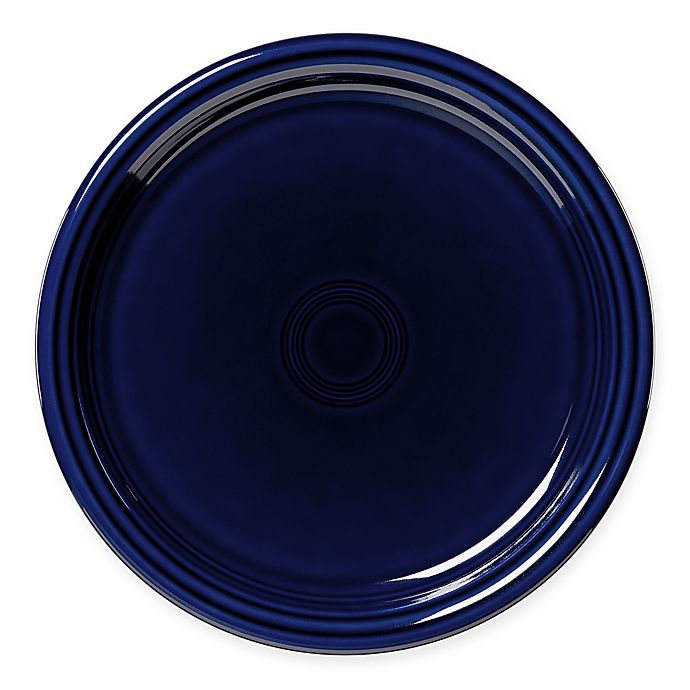 Alternate image 1 for Fiesta® Bistro Dinner Plate in Cobalt Blue