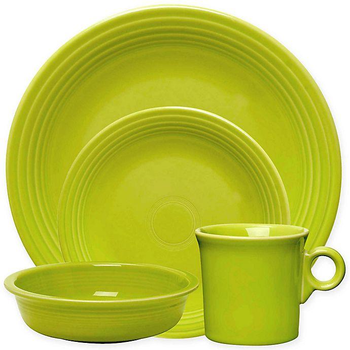 Alternate image 1 for Fiesta® Dinnerware Collection in Lemongrass