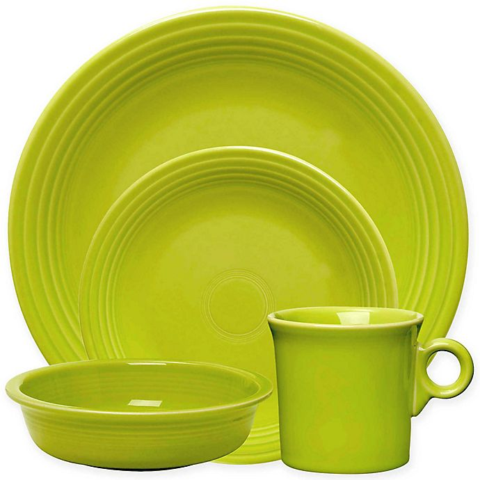 Alternate image 1 for Fiesta® Dinnerware Collection in Lemongrass