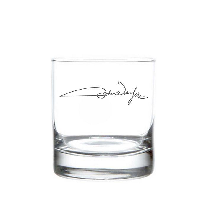 Alternate image 1 for Rolf Glass John Wayne Signature On The Rocks Glasses (Set of 4)