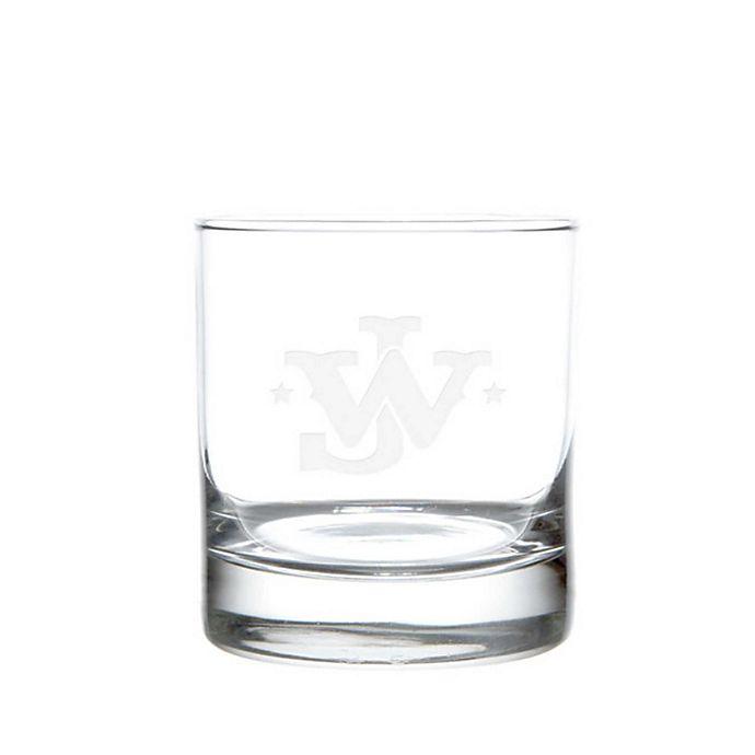 Alternate image 1 for Rolf Glass John Wayne Monogram On The Rocks Glasses (Set of 4)