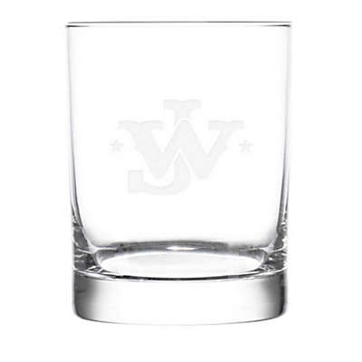 Rolf Glass John Wayne Monogram Double Old Fashioned (Set of 4)