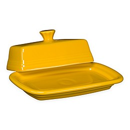 Fiesta® Extra-Large Covered Butter Dish in Daffodil