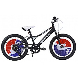 NBA Brooklyn Nets 20-Inch Kids Mountain Bike in Black
