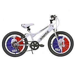 NBA San Antonio Spurs 20-Inch Kids Mountain Bike in White/Grey