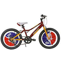 NBA Cleveland Cavaliers 20-Inch Kids Mountain Bike in Maroon/Yellow