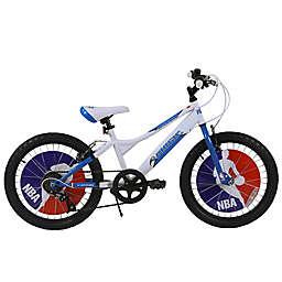 NBA Orlando Magic 20-Inch Kids Mountain Bike in White/Blue
