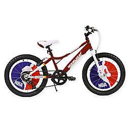NBA Miami Heat 20-Inch Kids Mountain Bike in Red/White