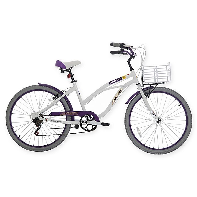 Los Angeles Lakers Beach Cruiser Bicycle View A Larger Version Of This Product Image